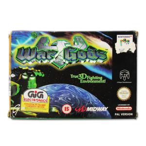 Nintendo 64 War Gods|Massa Giocattoli