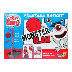 Piantana Basket Monster Slam|Massa Giocattoli