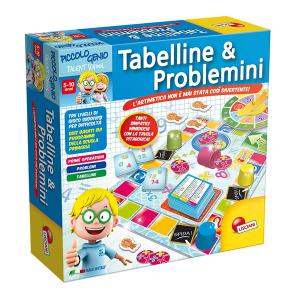 Tabelline & Problemini Lisciani|Massa Giocattoli