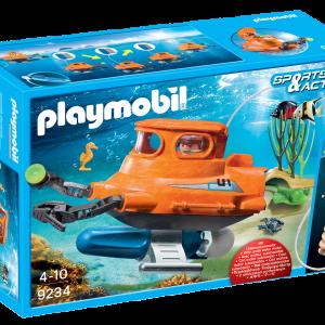 Playmobil 9234 Sottomarino con motore subacqueo|Massa Giocattoli