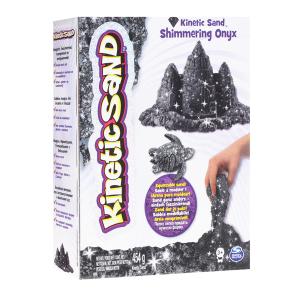 Kinetic Sand Shimmering Onyx|Massa Giocattoli