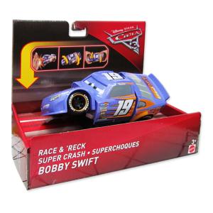 Cars Bobby Swift Scontri Sconvolgenti|Massa Giocattoli