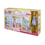 Barbie con Casa Componibile