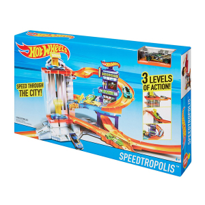 Hot Wheels Speedtropolis Playset|Massa Giocattoli
