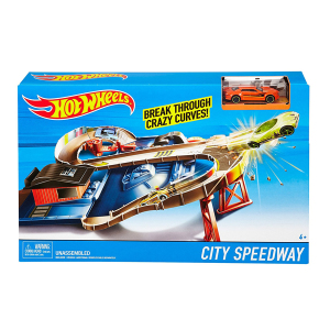 Hot Wheels City Speedway|Massa Giocattoli