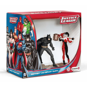 Justice League Batman Vs Harley Quinn|Massa Giocattoli