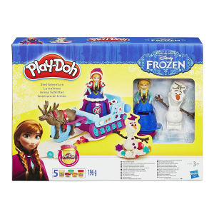Play-Doh Frozen Sled Adventure|Massa Giocattoli