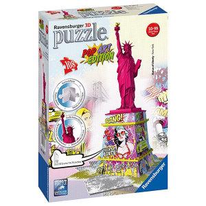 PUZZLE 3D STATUA DELLA LIBERTÀ POP ART | Massa Giocattoli