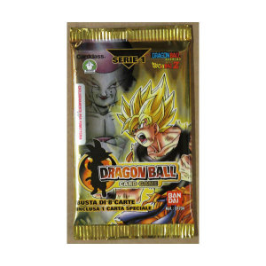 Dragon Ball Card Game Serie 1| Massa Giocattoli
