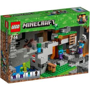 Lego Minecraft 21141 La caverna dello Zombie| Massa Giocattoli