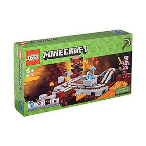 Lego Minecraft 21130 La ferrovia del Nether | Massa Giocattoli