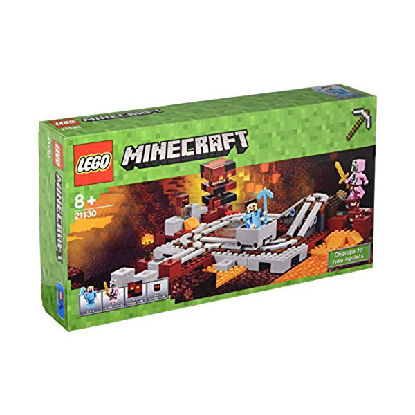 Lego Minecraft 21130 La ferrovia del Nether