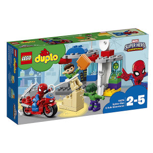 Lego Duplo 10876 Le avventure di Spider-Man e Hulk| Massa Giocattoli