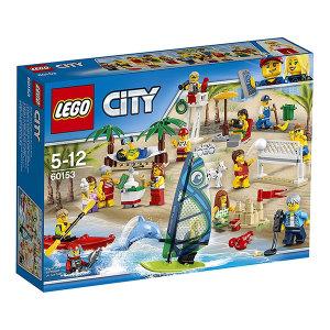 Lego City 60153 People pack – Divertimento in spiaggia| Massa Giocattoli