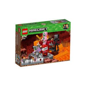 Lego Minecraft 21139 Lotta nel Nether| Massa Giocattoli