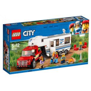 Lego City Pickup e Caravan 60182| Massa Giocattoli