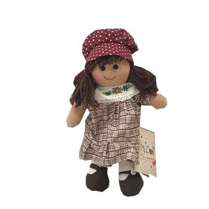 My Doll Vestito Pettorina Decorata Cuffia | Massa Giocattoli