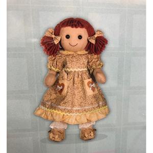 My Doll Bambola Vestito Fiori Marrone Con Tasche | Massa Giocattoli