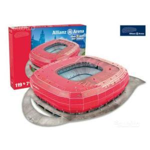 Stadio Allianz Arena Puzzle 3D|Massa Giocattoli