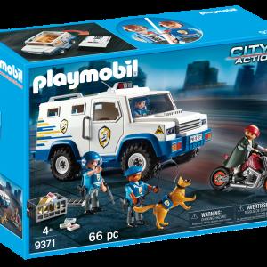 Playmobil 9371 Furgone Portavalori |Massa Giocattoli