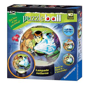 Ben Ten Alien Force Puzzleball Lampada| Massa Giocattoli