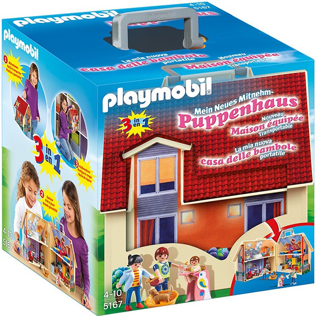 Playmobil 5167 Casa Portatile Delle Bambole