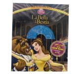La Bella E La Bestia 1 Libro E 1 CD |Massa Giocattoli