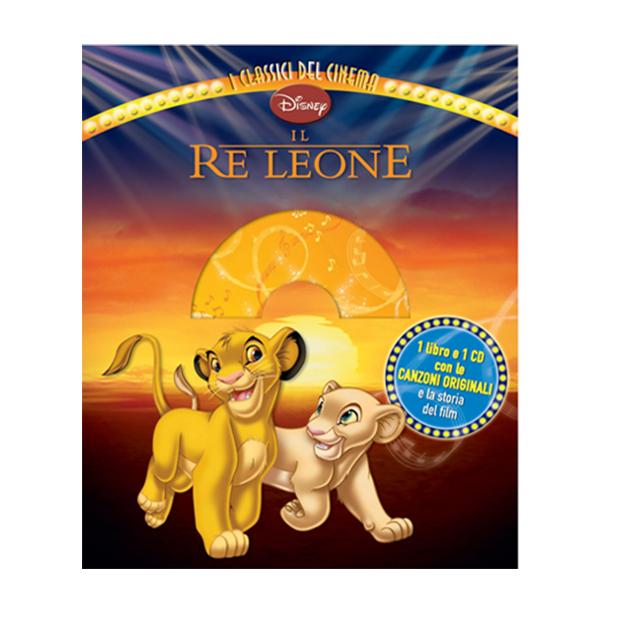 Il Re Leone 1 Libro E 1CD