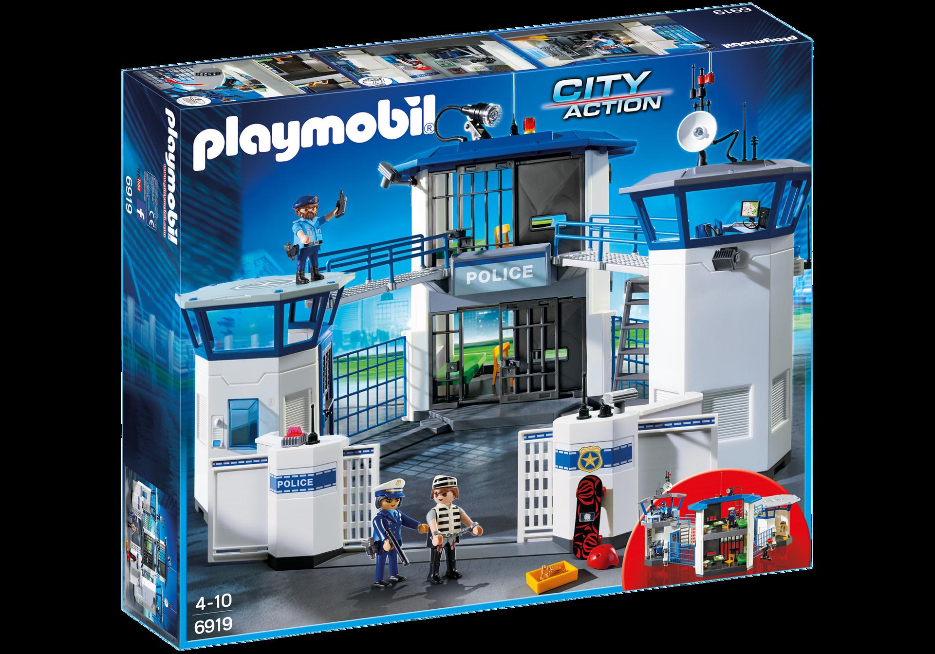Stazione Della Polizia Con Prigione