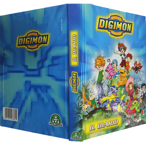 Diario Digimon Digital Monsters| Massa Giocattoli