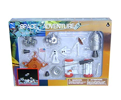NewRay Space Adventure kit lunar rover
