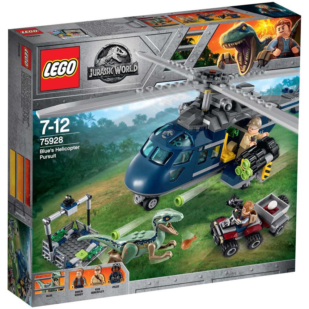 Lego Jurassic World 75928 Inseguimento Sull'Elicottero Di Blue