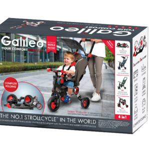 Galileo 4 in 1 Strollcycle|Massa Giocattoli