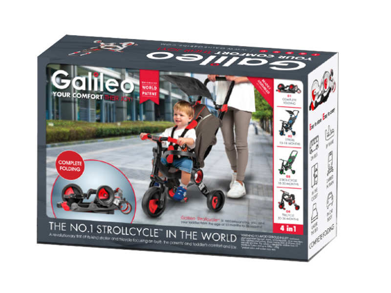 Galileo 4 in 1 Strollcycle