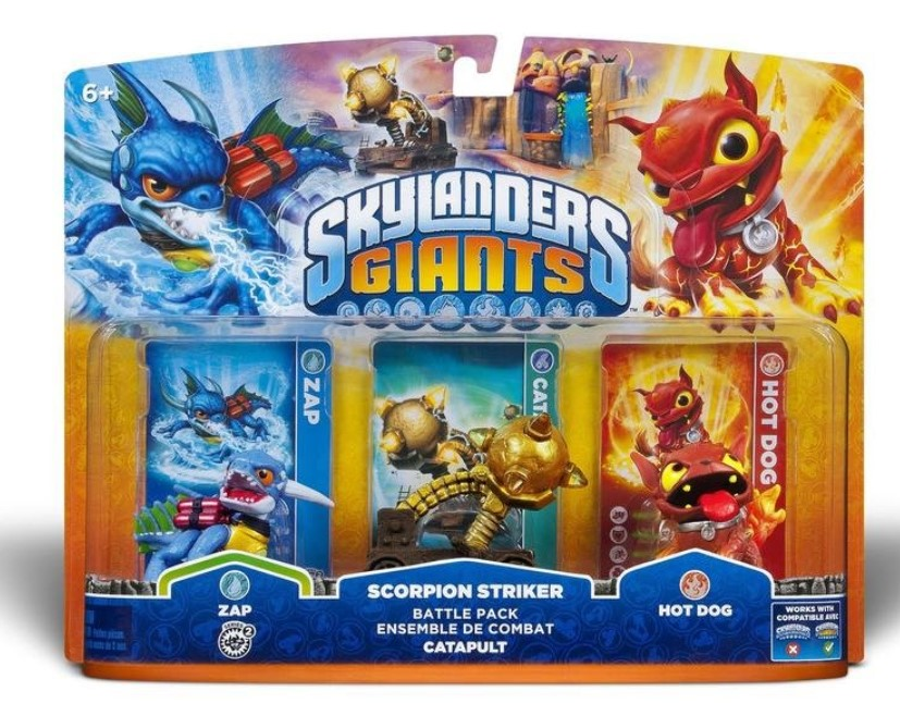 Skylanders Giants Personaggi