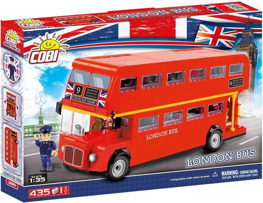 COBI- London Bus, Colore Rosso