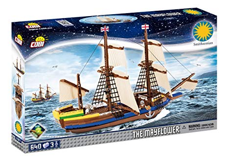 Cobi 21077 La nave Mayflower