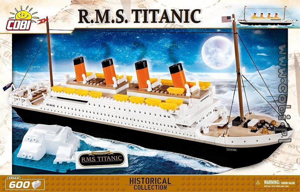 COBI Transatlantico Britannico R. m. s. Titanic 1914