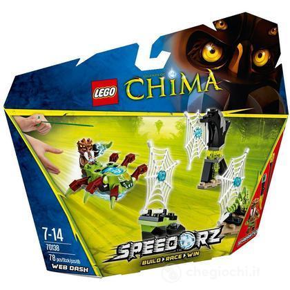 LEGO Chima 70138 – Slalom tra le Ragnatele