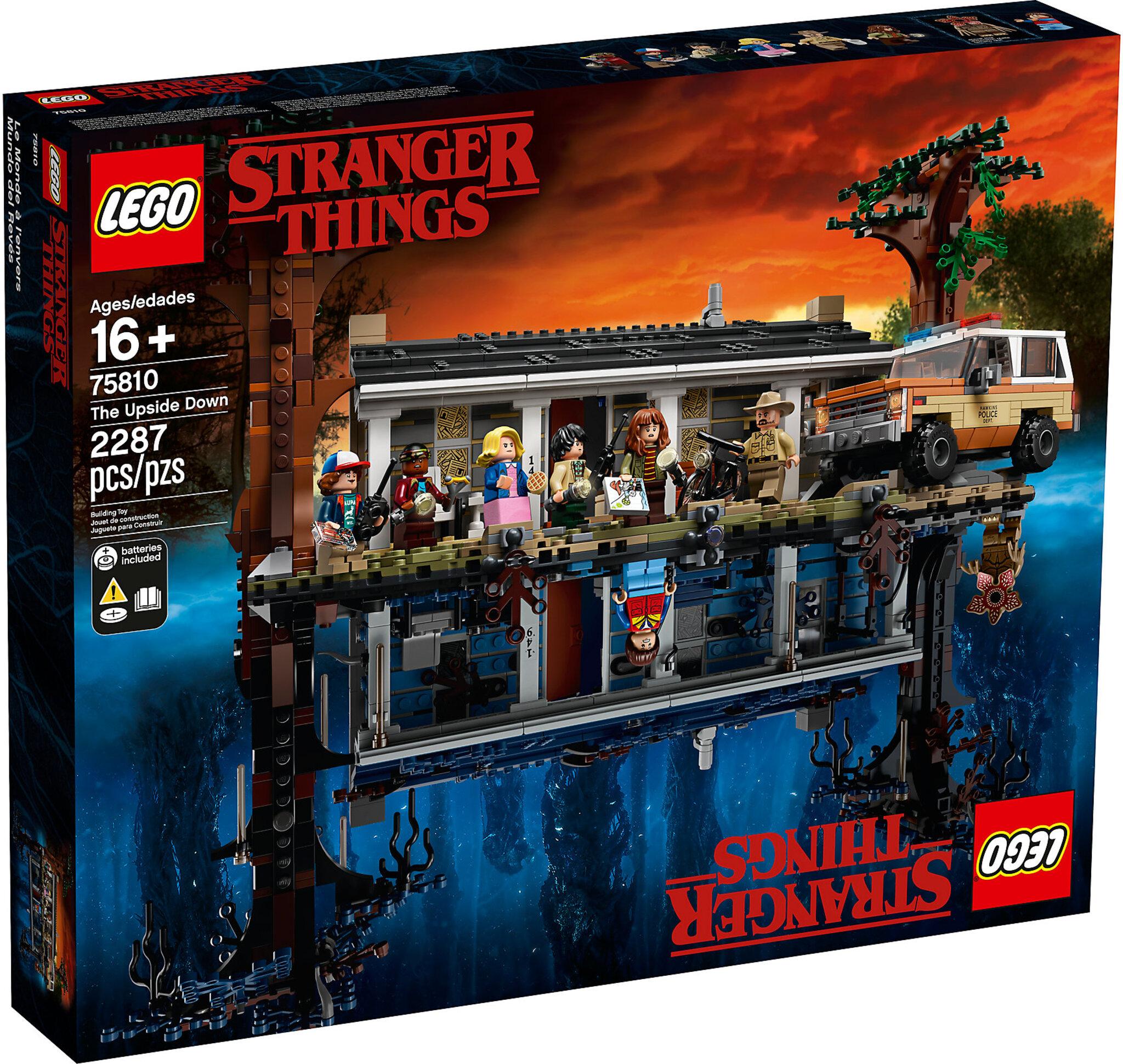 LEGO 75810 Stranger Things Il Sottosopra